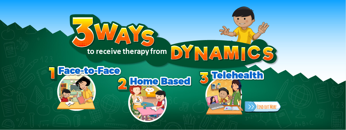 Three ways to receive therapy from Dynamics!