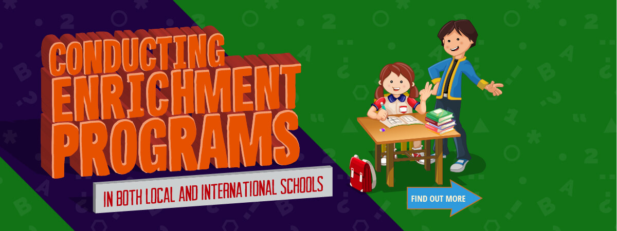 Conducting Enrichment Programs in both Local and International Schools