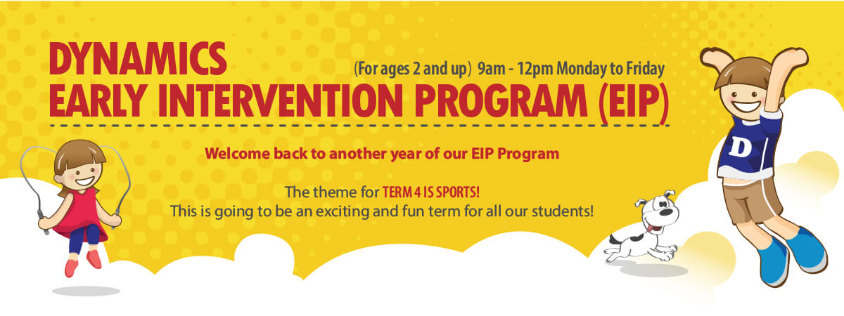 EIP Program Term 4 is sports!